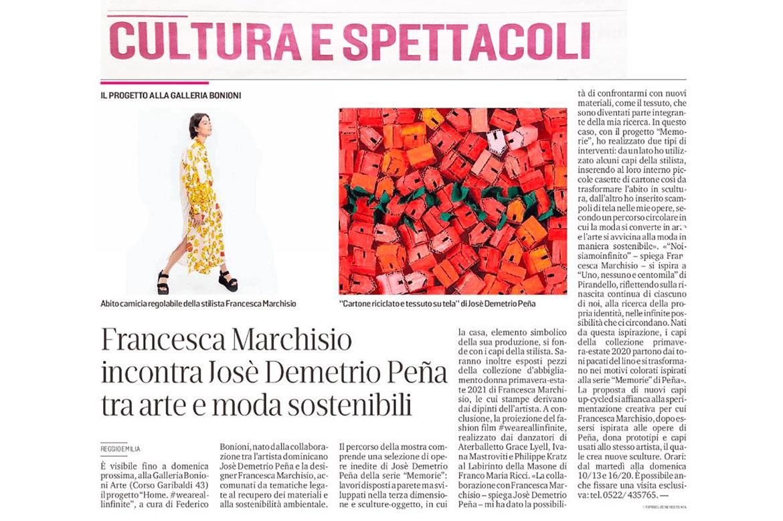 Gazzetta di Reggio Mostra Home #weareallinfinite