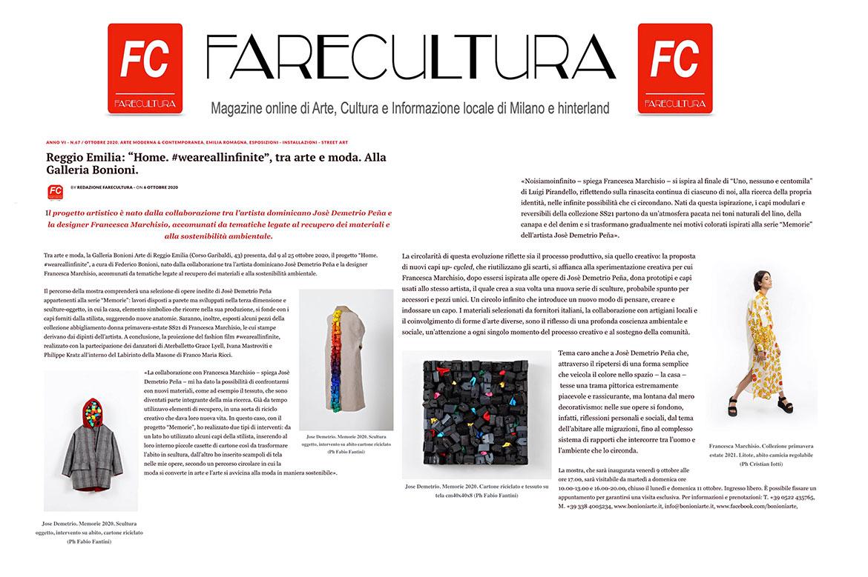 Farecultura #art #circularfashion